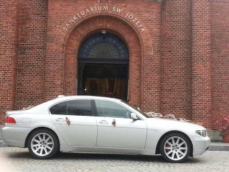 Do ślubu BMW serii 5 lub 7 - Żywiec i okolice