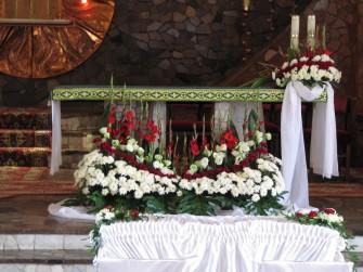 dekoracje kościołów Oborniki