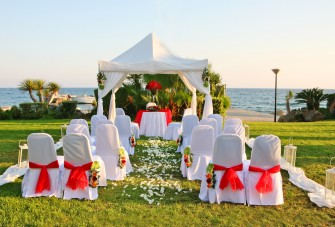 Wyjątkowy ślub na Cyprze Oroklini