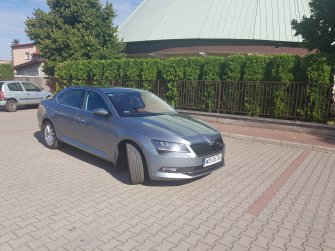 Samochód na ślub wesele imprezę z kierowcą - Skoda Superb III 350zł  Warszawa