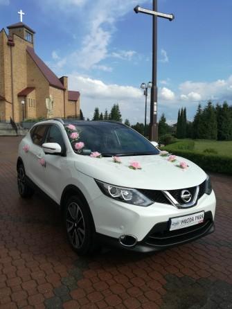 Piękne Auto do ślubu Nissan Qashqai Sokółka