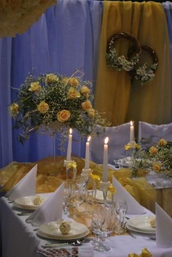 kwiat na sto�y Toru�