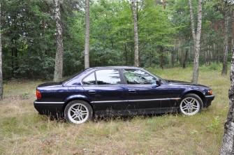 Klasyczne BMW 740 E-38 po renowacji, AUDI Q7 Łódź
