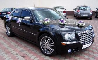 Chrysler 300C �nieznobia�y i czarny na �lub i wesele Rybnik