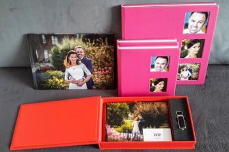 Fotoalbumy, fotoksiążki, płyty, pendrive, materiały ślubne  Leżajsk