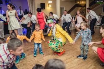 klaun dla dzieci  Szczedrzyk
