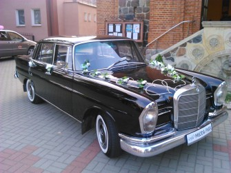 Mercedes W111 Szczecin