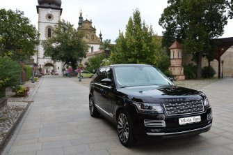 Czarny Land Rover Range Rover i Biały Mercedes CLA pełen luksus! Nowy Sącz