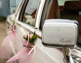 Cadillac -klasyczna amerykańska limuzyna do ślubu Gryfice