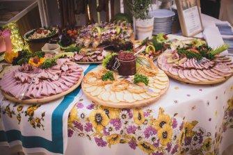 Swojski stół  Szczyrk