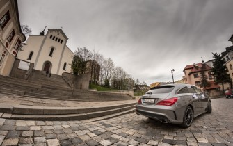 Mercedes CLA Tył Opole