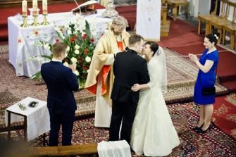 Pierwszy małżeński pocałunek Łódź