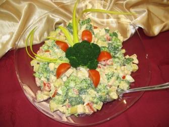 Sałatka brokułowa Lubin
