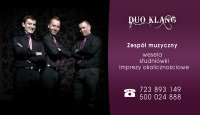 Zespół muzyczny DUO KLANG Śląsk | Tarnowskie Góry