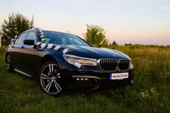 BMW do ślubu Warszawa