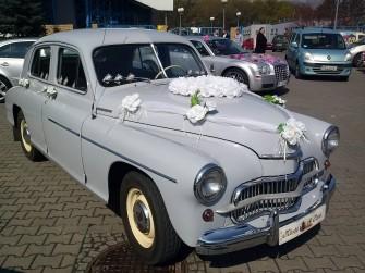 Piękna Warszawa M-20 i Chrysler 300C na 22'' kołach Wrocław