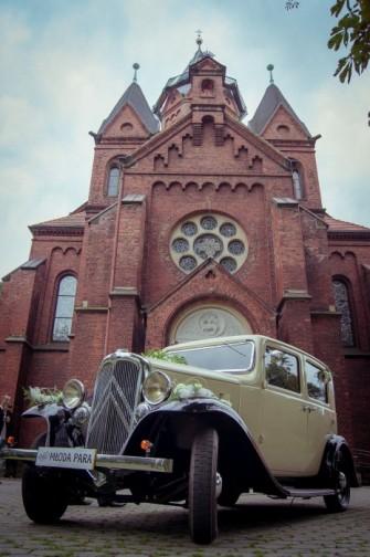 auto do ślubu wynajem samochodów zabytkowych Tarnowskie Góry