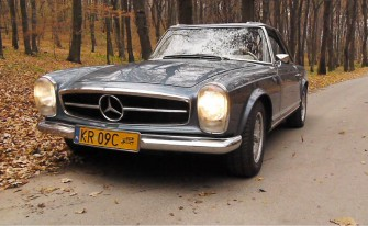 Mercedes 280 SL 1970r. Kraków