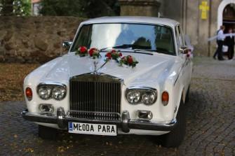 Rolls-Roycem do ślubu! JASŁO
