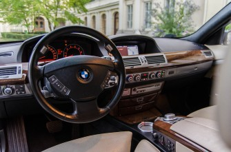 Do ślubu z klasą - BMW 750Li Long Łowicz