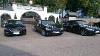 Do Ślubu Piękne BMW 7 f01 BMW 5 E60 Mercedes CLA oraz Mazda 6  Białystok