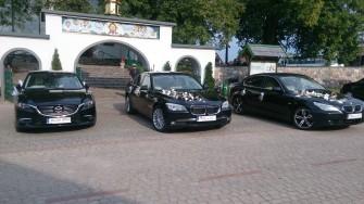 Do Ślubu Piękne BMW 7 f01 Mercedes S-class Lang BMW 5 oraz Mazda 6  Białystok