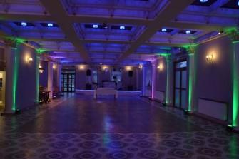 Oświetlenie sali Kielce