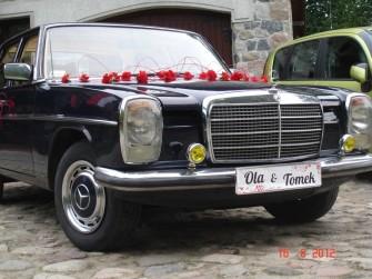 Zabytkowe Mercedesy do ślubu Warszawa
