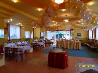 Nasza udekorowana sala weselna Mi�dzybrodzie Bialskie
