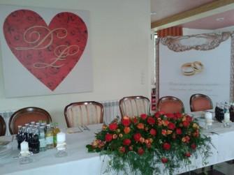 dekoracja sali Skawina