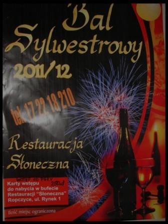 Sylwester 2011 Słoneczko Ropczyce
