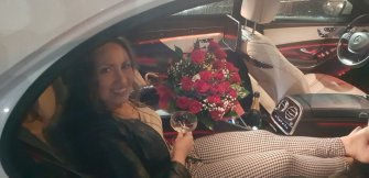 Auto do ślubu, biały mercedes AMG S-klasa W222 + rejs jachtem gratis Gdańsk
