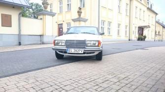Mercedes W123 Coupe Bielsko-Biała