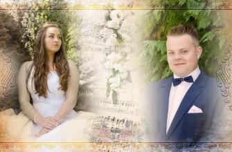 Strona fotoksiążki Chojnice