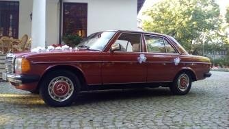 Auto do ślubu - Mercedes w123 Piotrków Tryb.