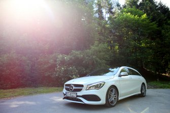 Mercedes CLA Shooting Brake AMG Myślenice