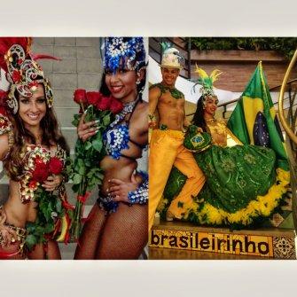 """Opis oferty: Opis oferty: Widowiskowy show, spektakularne stroje, zjawiskowo piękne, EGZOTYCZNE tancerki pod przewodnictwem Brazylijczyka, mistrza samby i choreografa Jailsona de Oliveira! Profesjonalny zespół taneczny SAMBA ART!  KIM JESTEŚMY? Nasz zespół współtworzą wyłącznie profesjonaliści. W skład grupy wchodzą tancerki z: Brazylii, Kuby, Kolumbii, Nigerii oraz Polski. Nasze zaplecze kostiumowe liczy ponad 30 unikatowych strojów do samby brazylijskiej ale nie tylko... Współpracowaliśmy do tej pory m.in. z TVN, TVN24, Polsatem, TVP, wieloma instytucjami kulturalnymi, organizacjami komercyjnymi. Występujemy na imprezach firmowych, integracjach, weselach, jubileuszach, piknikach, przyjęciach prywatnych...  Nasi tancerze to najbardziej rozchwytywani instruktorzy tańca nauczający w najlepszych szkołach tańca w Warszawie.  CO OFERUJEMY? - Samba Brazylijska - Capoeira Show ( w składzie v-ce mistrz świata prof. Bailarino ) - Carmen Miranda show ( Samba w """"owocowym wydaniu"""" - zabawa taneczna z Gośćmi - na wesoło  - Zespół muzyczny grający wszelkie rytmy Brazylijskie! sambaart.com facebook.com/artofsamba youtube.com/artofsamba Serdecznie zapraszamy do krainy Rio de Janeiro! Warszawa"""