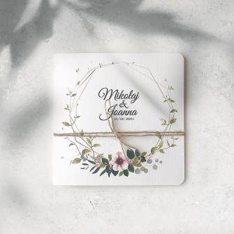 Zaproszenie ślubne tadamart świebodzin
