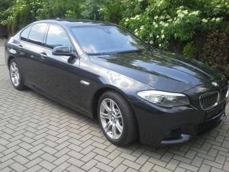Piękne BMW 5 M-Pakiet do Ślubu ! - Andrychów