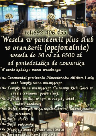 Wesele w czasie pandemii Kraków