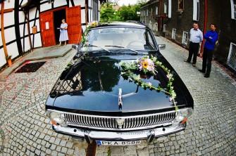 Czarną Wołgą do Ślubu Kalisz