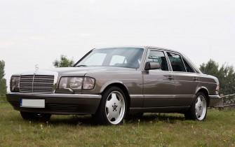 Mercedes 500SE V8 w126 banino