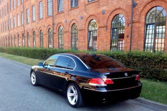Luksusowe BMW 750i Long 5 osobowy ��d�