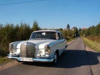 Mercedes 220 se 1960r. Kraków