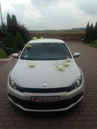 Bia�y Volkswagen Scirocco Wroc�aw