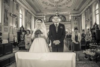 Uroczystość zaślubin Ania i Maciej Łódź
