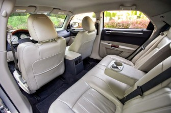 Chrysler 300c - wn�trze Bochnia