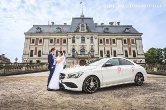 MERCEDES CLA DO ŚLUBU - Wynajem samochodu na wesele Bielsko-Biała