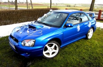 Subaru Impreza WRX Tuchola