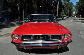 Mustang 1967 Cabrio / Mustang 2014 Coupe Lublin